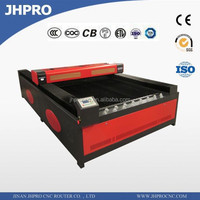 Widely Used JH-1326(1300*2600MM) CO2 Laser Engraving and Cutting Machine Price Good