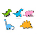 5 Pcs Animal Dinosaur Patch Cartoon Brooch Pin Badges Set for Clothes Bags Backpacks