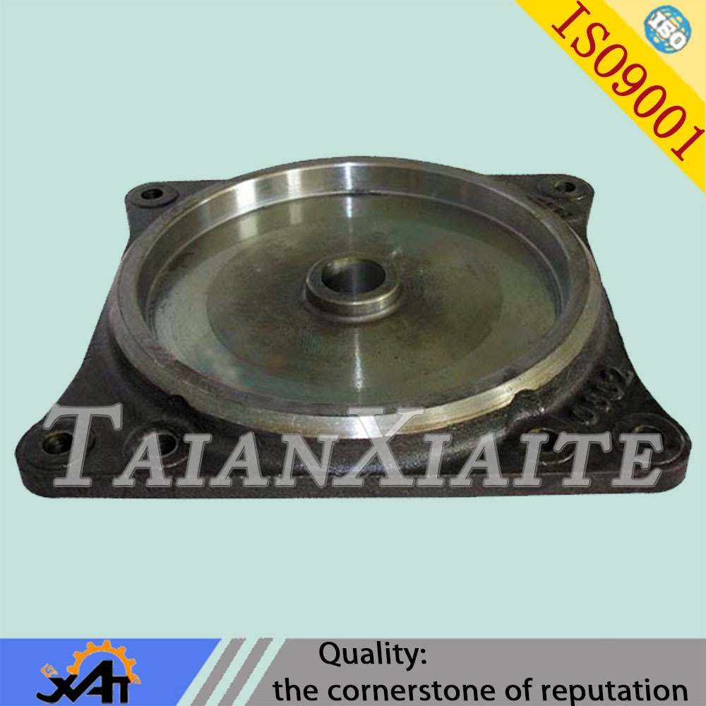 Carbon steel casting heavy truck part train part base plate