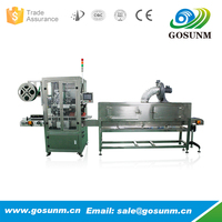 Hot China Sales PVC shrink film label sleeve machine