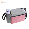 Encai Pram Hanging Baby Diaper Bag Organizer Universal Stroller Organizer Bag New Design Baby Buggy Bag With Compartment