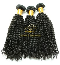 Unprocessed Tangle Free Factory Price Quality 8A Virgin Kinky Curly Brazilian Hair Crochet Hair Extension