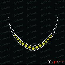 [A1011] Wholesale necklace rhinestone transfer