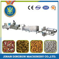 new design Dry pet dog food extruder production line