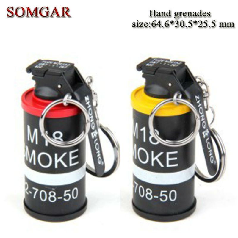 Creative military The U.S. military theme AN-M18 Smoke hand grenade lighter