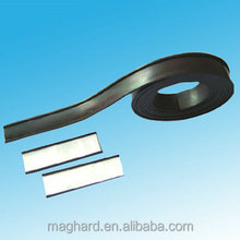 C profile isotropic flexible extruded laminated magnetic rubber foil /strips