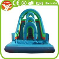 Thomas and his friends inflatable bounce house,inflatable water slide