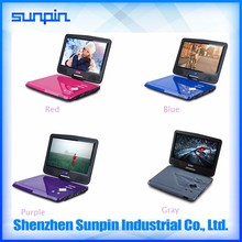10 inch mini lcd portable dvd player
