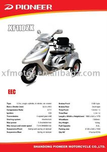 handicapped 110cc motorycle from Pioneer company EEC