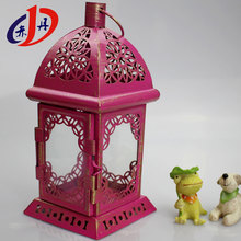 Wholesale High Quality Metal craft Tea Light Candle Holder , wedding decorative lanterns wrought iron candle holder