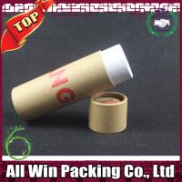 Wholesale Recycled Full colors printing paper tube for incense stick packaging