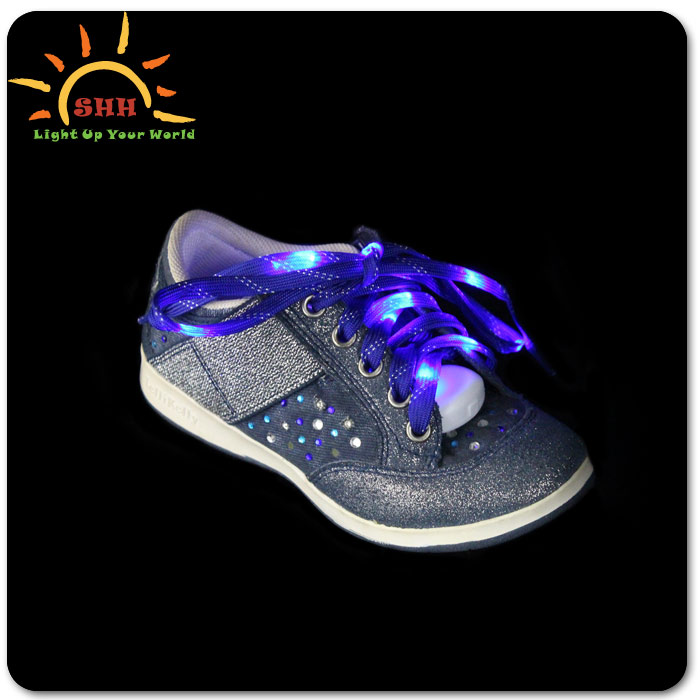 novelty gifts and crafts night lighting fashion led shoelaces for sports