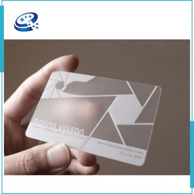 Customize Business name Card online design Frosted Surface Printing plastic card