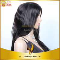 freestyle full lace remy hair wigs full head tape wefts hair extension lace human hair wig