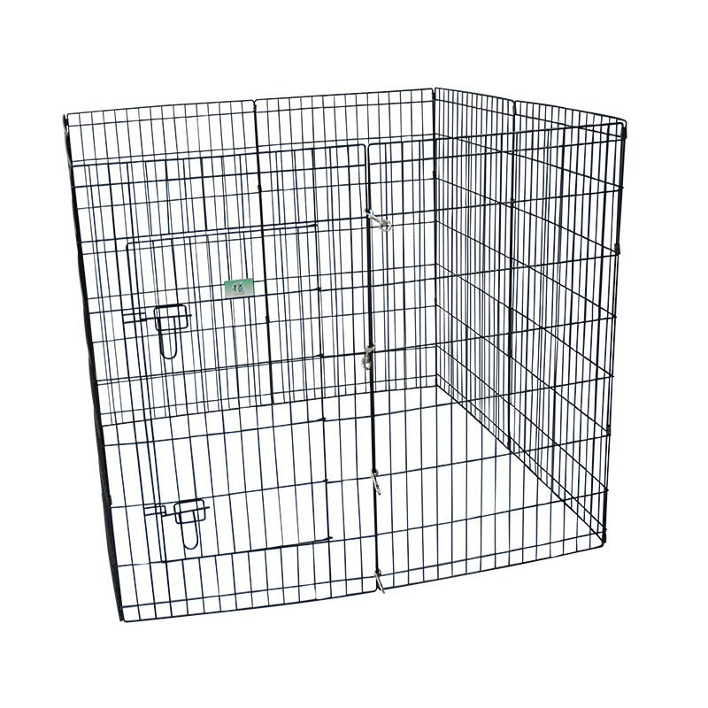 animal metal outdoor fence dog cage