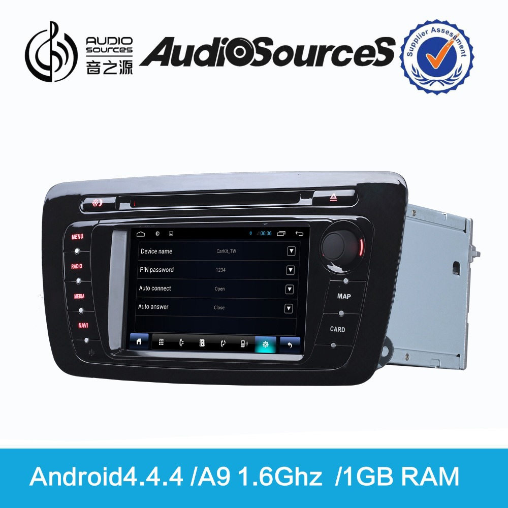 2 Din Android 5.1 Car DVD Player Can-bus Audio Video Entertainment Navigation System for Seat Ebilza D90-650