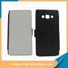 Heat transfer printing Blank leather sublimation case for Samsung A7