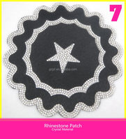 Hot fix Rhinestone Motif Strass Patch