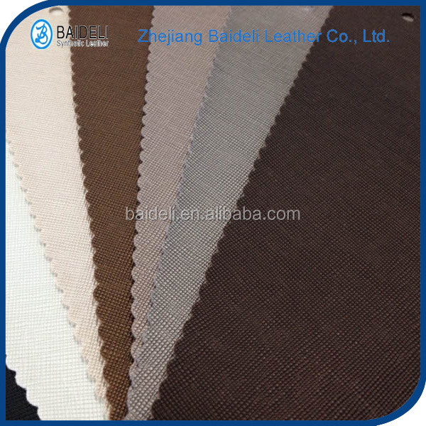 Hot sales artificial leather fabric for furniture vinyl upholstery fabric
