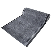 Commerical 100% polyester single strip hotel entrance door flooring mat roll