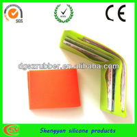 High quality silicone coin wallet pochi purse for promotion