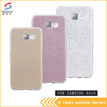 Smart phone with factory price case bling bling tpu and pc for samsung a510