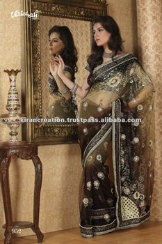 Beautiful Net saree for girls