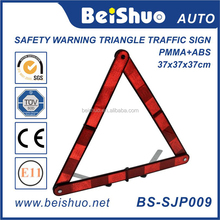 China Supplier Road Traffic Signs Led Car Flashlight Reflector Warning Triangle Led Flashing for Car Emergency Kit