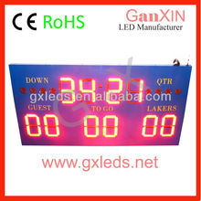 Outdoor waterproof basketball football digital led basketball score