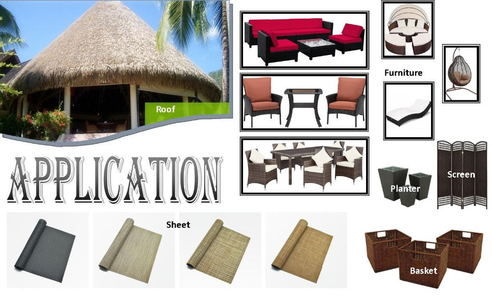 Durable High Temperature Resistance Patio Furniture Twisted Wicker (BM-31444)