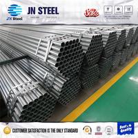 Bs 1387 galvanized steel tube scaffolding steel pipe hot dip galvanized water line pipe