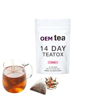 High quality and Reliable detox tea private label Diet herb tea for beauty and improving constipation