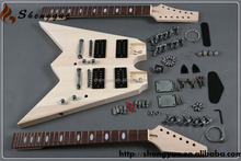 unfnished no paint double neck FV models guitar kit