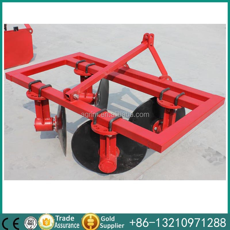 tractor mounted adjustable 4 blades disc ridger for sale