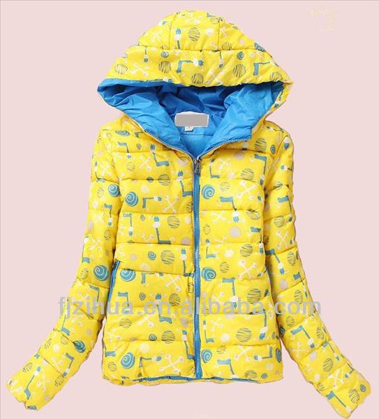 Winter kids nylon jacket