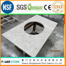 Man Made Marble Slab for Countertop