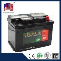MF Starting battery for vehicles 12v 72ah car battery