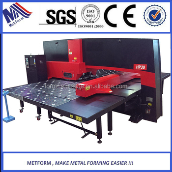 economic Solar Water Heater Production Line cnc turret punch