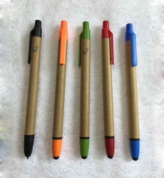 Recycle kraft paper touch pen stylus touch pen touch screen pen