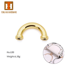 custom bag decoration arch bridge metal accessories for bags