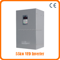 CE approced Variable ac frequency inverter 55KW 50/60HZ /VFD 55KW/55KW Frequency Inverter