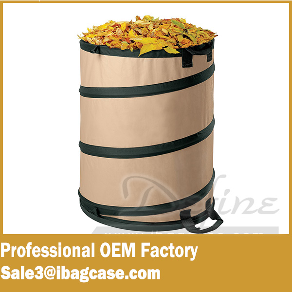 Garden Waste Bag Cheap Trash Can Collapsible Pop Up Bag