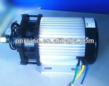 60v 2.5kw electric car brushless dc motor