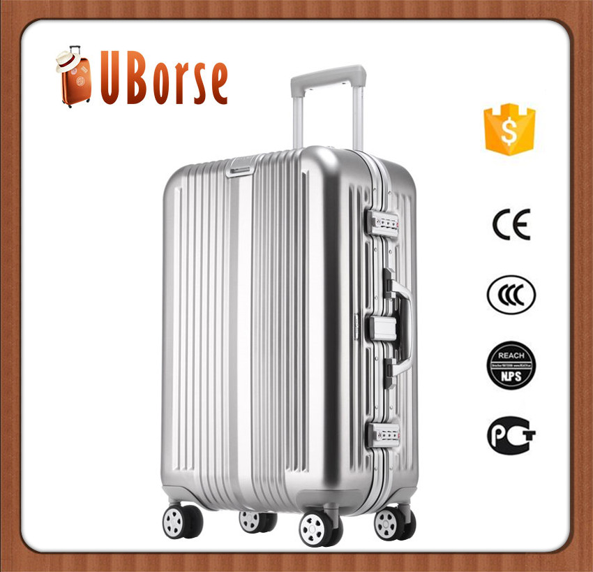 17''20''24''28'' Worth to import aluminum suitcase luggage bag travel trolley luggage