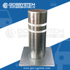 Automatic Rising Retractable Security Stainless Steel Hydraulic Bollards For Sale