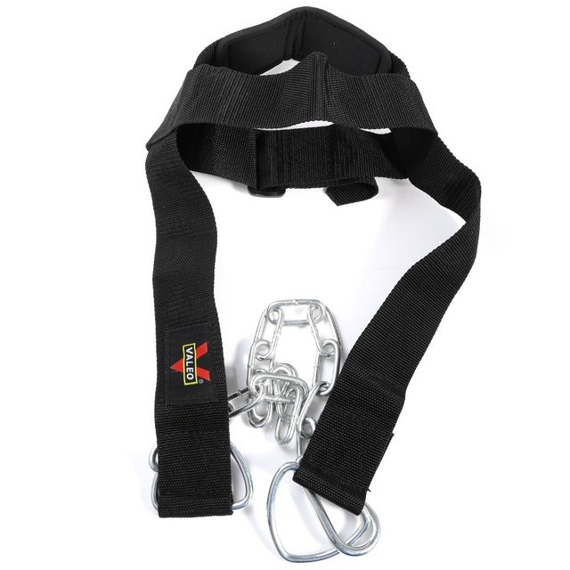 Fully Adjustable Nylon Strap Head Harness Belt Neck Weight Lifting Strength Exercise Strap Body Building Sport Fitness Weights