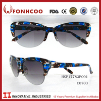 FONHCOO New Products Multi Colored Italian Style Luxury Fashion Design Plastic Sunglasses