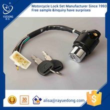 YUEDONG 3 wheel motorcycle CBT125 ignition switch, ignition starter switch, main switch