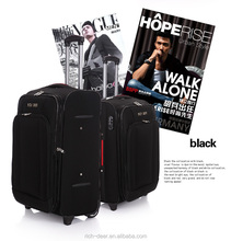 600D polyester luggage and cheapest price by factory selling