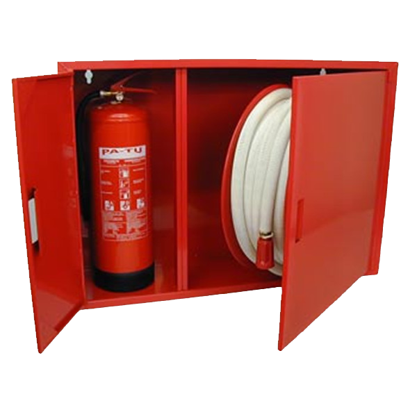 Carbon Steel Fire Extinguisher Box And Fire Extinguisher